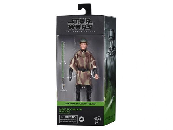 "Star Wars: The Black Series 6"" Luke Skywalker in Endor Gear (Return of the Jedi) Action Figure"