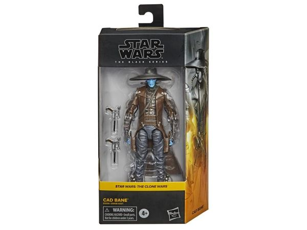 "Star Wars: The Black Series 6"" Cad Bane (Clone Wars) Action Figure"