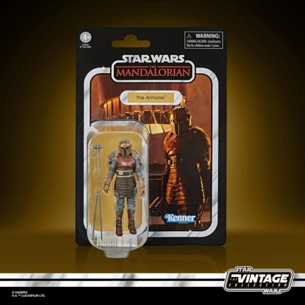 *PRE-SALE* Star Wars: The Vintage Collection Armorer (The Mandalorian) Action Figure