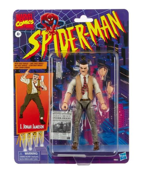 *PRE-SALE* Marvel Legends Spider-Man Retro Collection J. Jonah Jameson Action Figure
