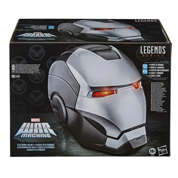 *PRE-SALE* Marvel Legends War Machine 1:1 Scale Wearable Electronic Helmet
