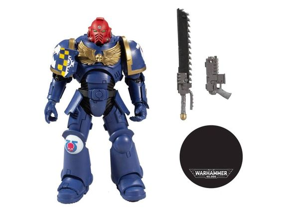 Warhammer 40,000 Ultramarines Primaris Assault Intercessor Action Figure