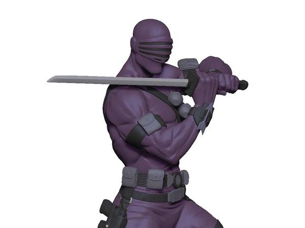 G.I. Joe Snake-Eyes 1/8 Scale Statue