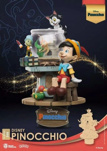 *PRE-SALE* Disney D-Stage DS-058 Pinocchio Statue