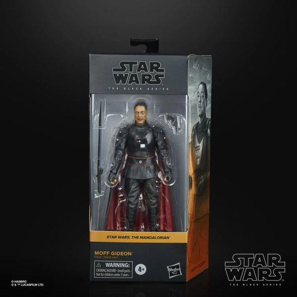 *PRE-SALE* Star Wars Black Series The Mandalorian Moff Gideon Action Figure