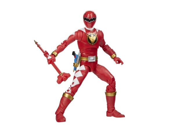 Mighty Morphin Power Rangers Lightning Collection Dino Thunder Red Ranger Action Figure