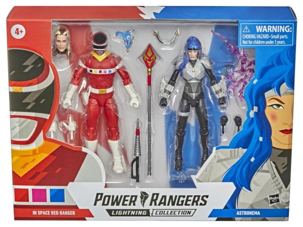 *PRE-SALE* Power Rangers In Space Lightning Collection Red Ranger VS Astronema Two-Pack