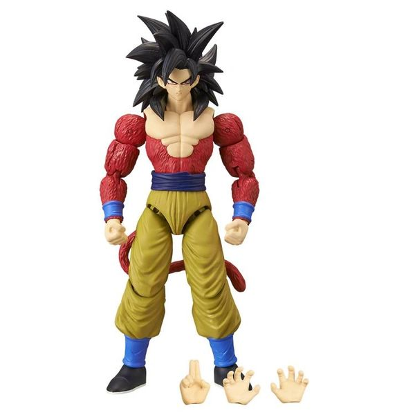 Dragon Ball GT Dragon Stars Super Saiyan 4 Goku Action Figure