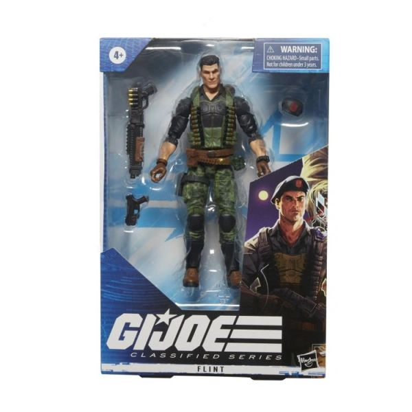 *PRE-SALE* G.I. Joe Classified Flint Action Figure