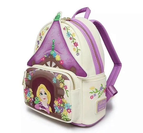 Loungefly Disney Mini-Backpack Tangled 10th Anniversary Tower Scene