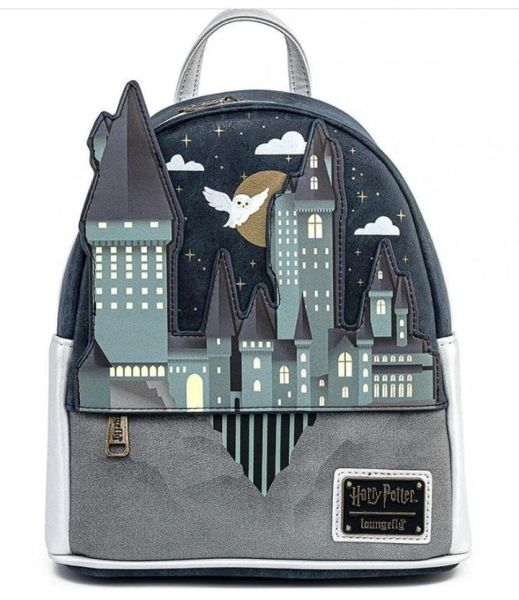 Loungefly Harry Potter Mini-Backpack Hogwarts School of Wizardry Castle