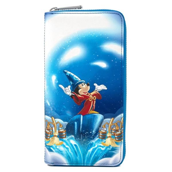 Loungefly Disney Wallet Fantasia 80 Years Sorcerer Mickey