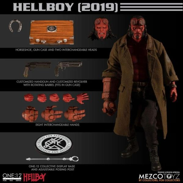 Mezco One:12 Collective Hellboy (2019) Action Figure