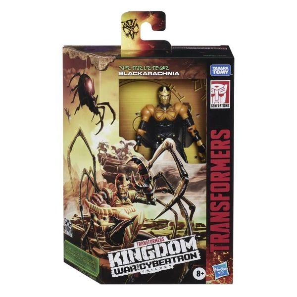 Transformers War for Cybertron: Kingdom Voyager Blackarachnia Action Figure