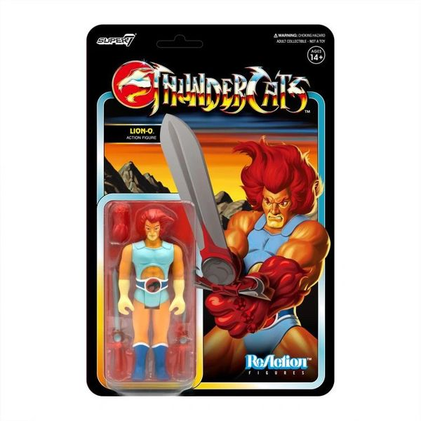 ThunderCats ReAction Lion-O (Toy Variant) Figure