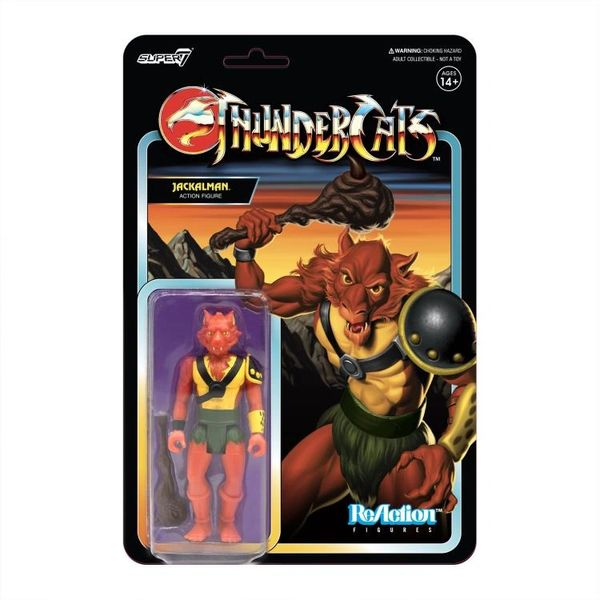 ThunderCats ReAction Jackalman (Toy Variant) Figure