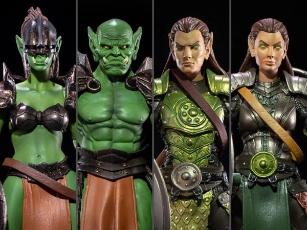 *PRE-SALE* Mythic Legions Tactics: War of the Aetherblade Set of 4 Deluxe Legion Builder Action Figures