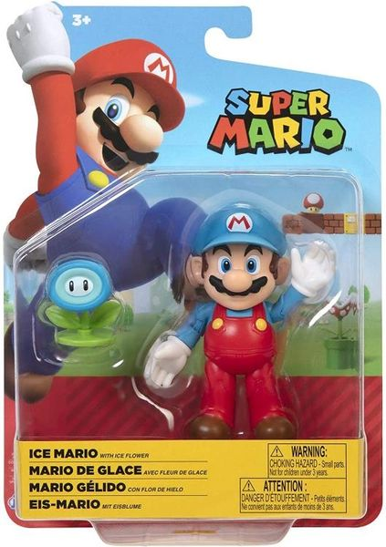 "World of Nintendo 4"" Wave 23 Super Mario Bros. Ice Mario Action Figure"