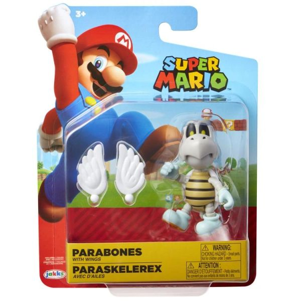 "World of Nintendo 4"" Wave 23 Super Mario Bros. Parabones Action Figure"