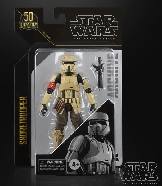 Star Wars: The Black Series Archive Collection Shoretrooper Action Figure