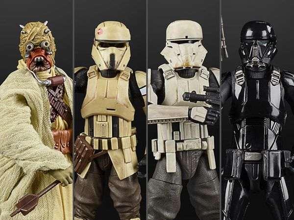 Star Wars: The Black Series Archive Collection Wave 4 Set of 4 Action Figures