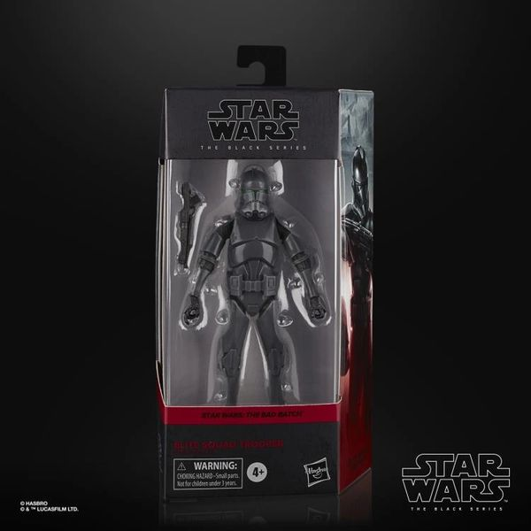 "Star Wars: The Black Series 6"" Elite Squad Trooper (The Bad Batch) Action Figure"