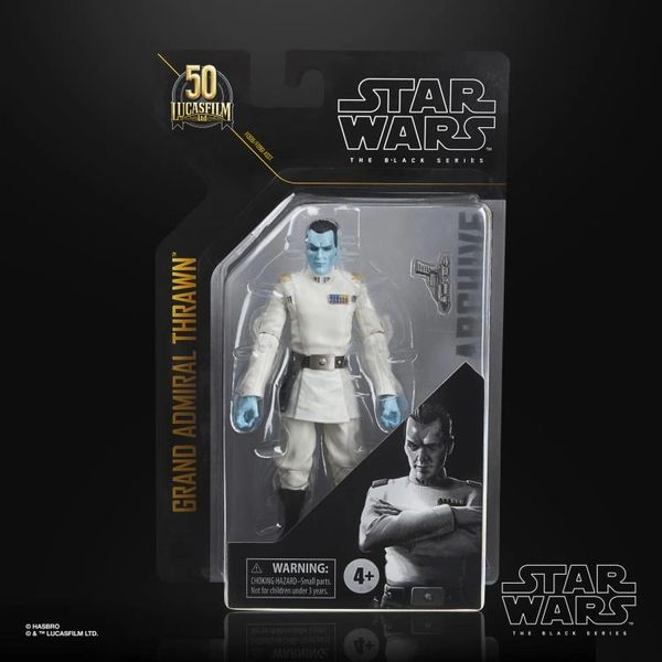 Star Wars: The Black Series Archive Collection Grand Admiral Thrawn Action Figure
