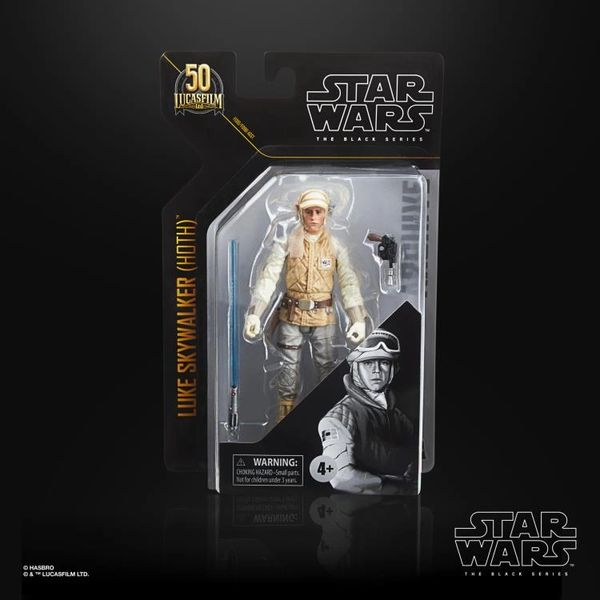 Star Wars: The Black Series Archive Collection Luke Skywalker (Hoth Gear) Action Figure