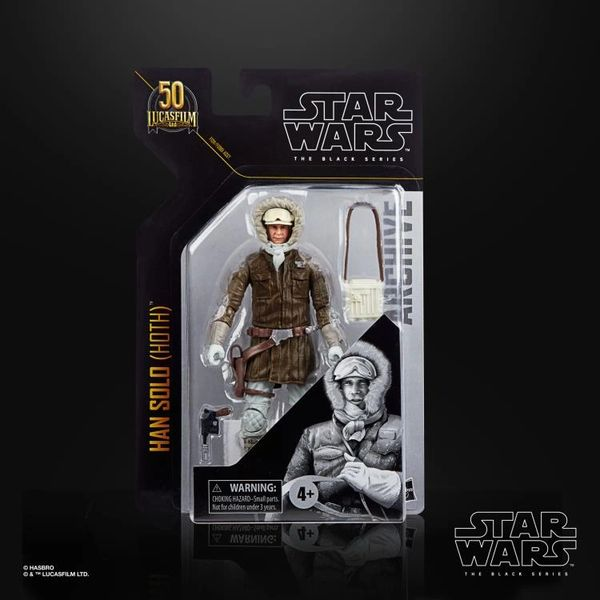 Star Wars: The Black Series Archive Collection Han Solo (Hoth Gear) Action Figure