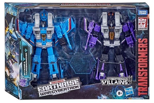 *PRE-SALE* Transformers War for Cybertron: Earthrise Voyager WFC-E29 Seekers Skywarp & Thundercracker Two-Pack