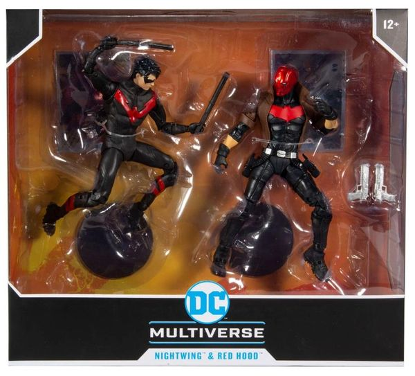 DC Multiverse Nightwing vs Red Hood Action Figure Two-Pack