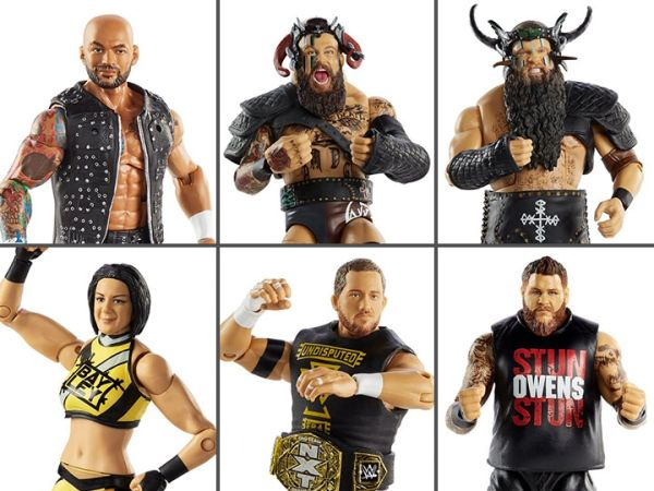 WWE Elite Collection Series 80 Set of 6 Figures
