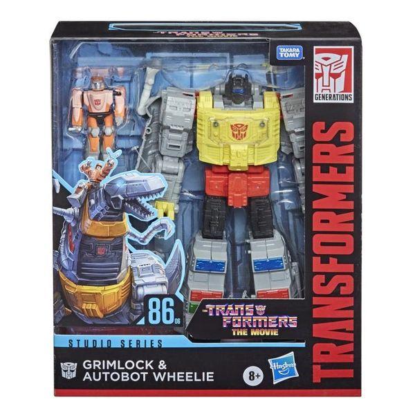 Transformers Studio Series 86-06 Leader Grimlock & Wheelie Action Figure