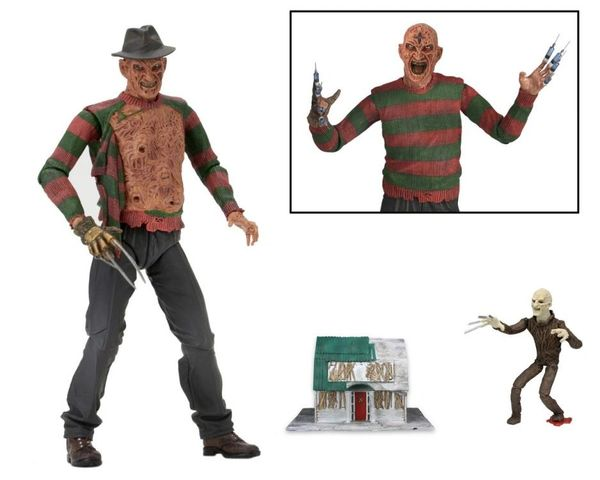 A Nightmare On Elm Street Part 3 Ultimate Freddy Krueger Action Figure