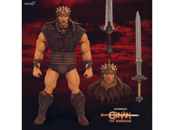 Conan The Barbarian Ultimates Pit Fighter Conan Action Figure