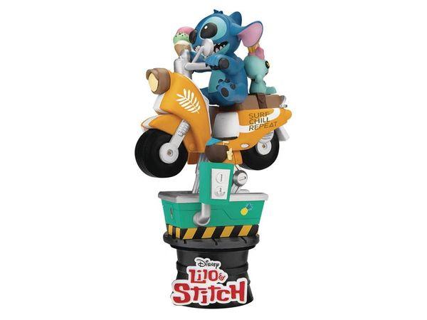Lilo & Stitch D-Stage Stitch & Scrump Coin Ride Statue