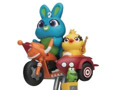 Toy Story D-Stage Bunny & Ducky Coin Ride Statue