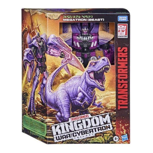 Transformers War for Cybertron: Kingdom Leader Megatron Action Figure