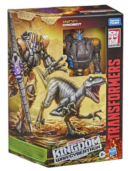 Transformers War for Cybertron: Kingdom Voyager Dinobot Action Figure