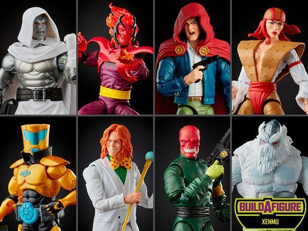 *PRE-SALE* Marvel Legends Super Villains Wave 1 Set of 7 Action Figures (Xenmu BAF)