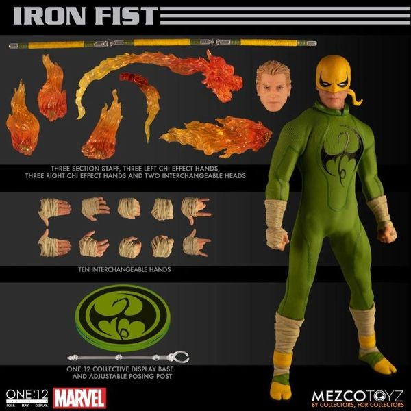Marvel One:12 Collective Iron Fist Action Figure