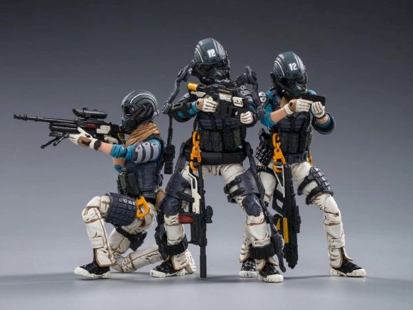 *PRE-SALE* Battle for the Stars Starhawk 12th Peron Patrol 1/18 Scale Figure Set of 3