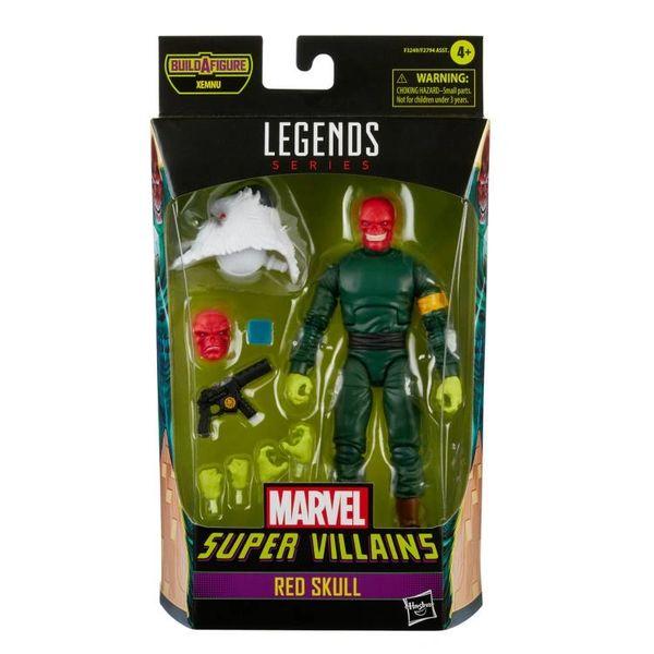 *PRE-SALE* Marvel Legends Super Villains Red Skull Action Figure (Xenmu BAF)