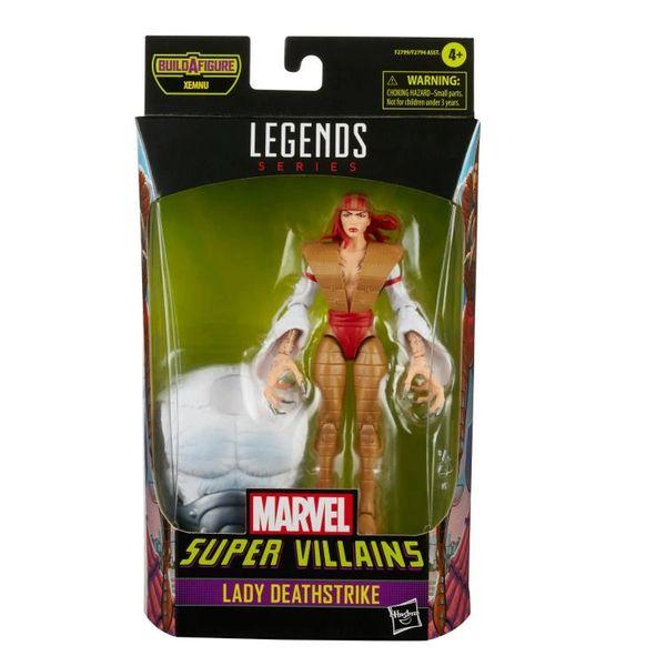 *PRE-SALE* Marvel Legends Super Villains Lady Deathstrike Action Figure (Xenmu BAF)
