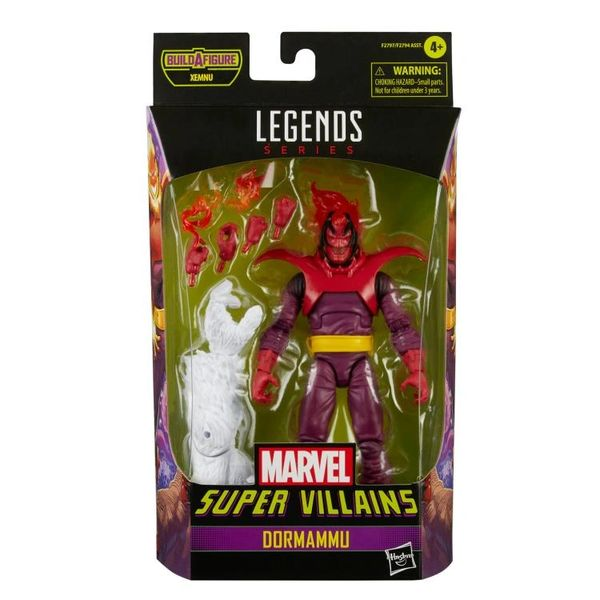 *PRE-SALE* Marvel Legends Super Villains Dormammu Action Figure (Xenmu BAF)