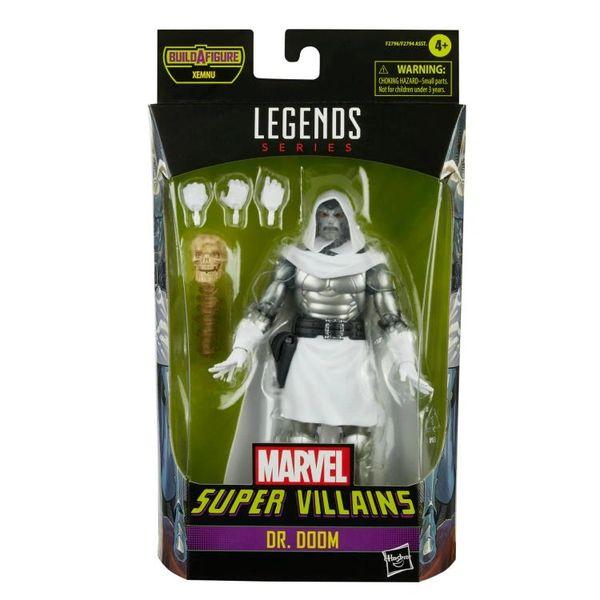 *PRE-SALE* Marvel Legends Super Villains Dr. Doom Action Figure (Xenmu BAF)