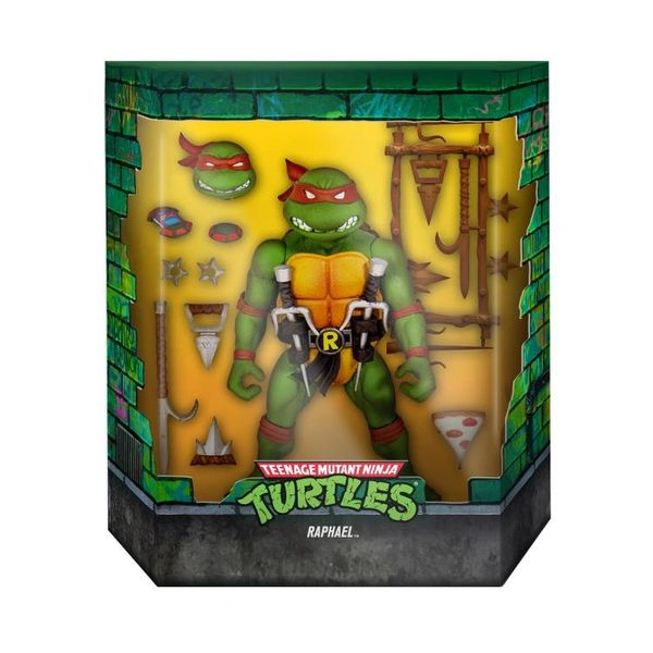 *PRE-SALE* Teenage Mutant Ninja Turtles TMNT Ultimates Wave 1 Raphael (Redeco) Action Figure