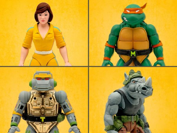 *PRE-SALE* TMNT Ultimates Wave 3 Set of 4 Action Figures