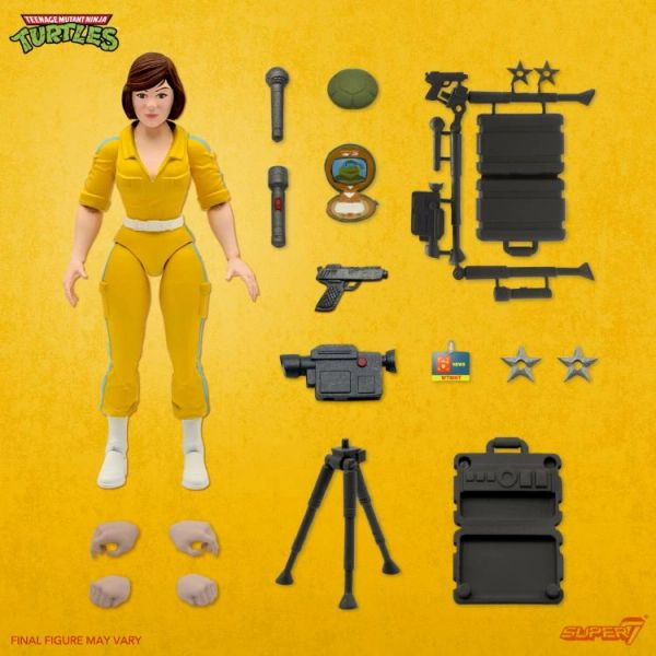 *PRE-SALE* TMNT Ultimates Wave 3 April O'Neil Action Figure