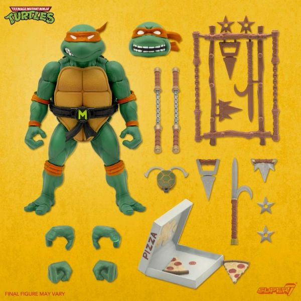 *PRE-SALE* TMNT Ultimates Wave 3 Michelangelo Action Figure